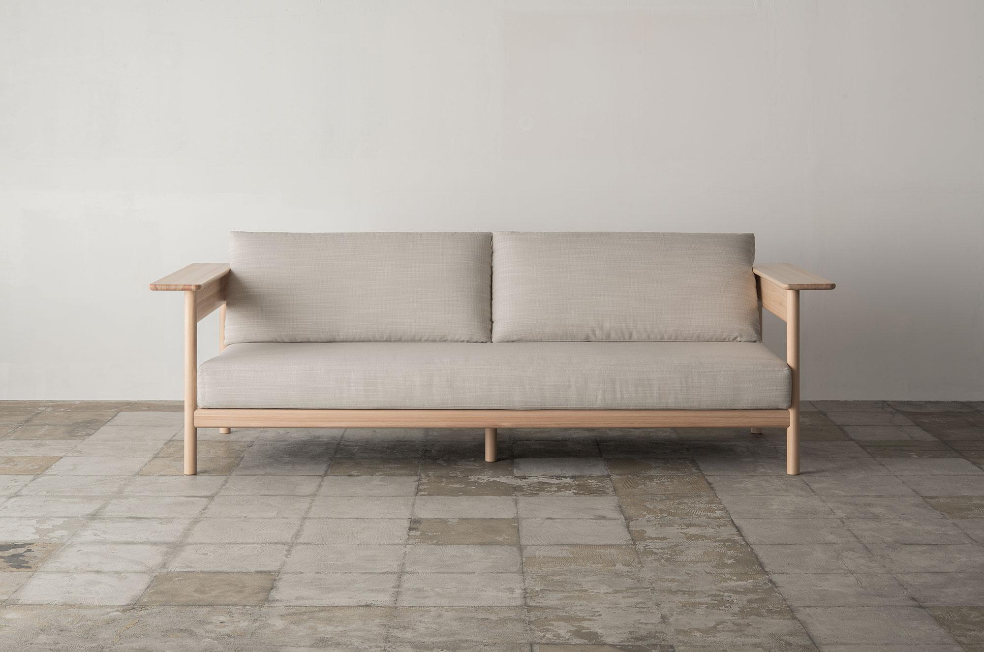Karimoku x Norm: 2-Seater Sofa